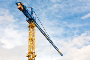 image of construction crane